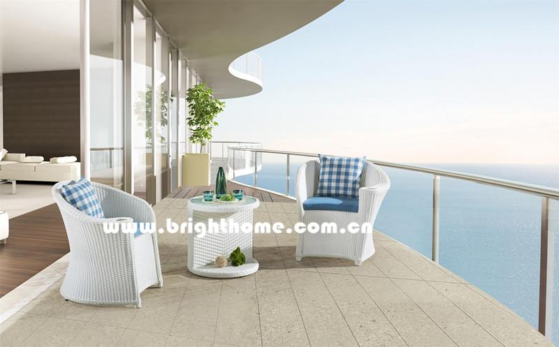New Design PE Wicker Outdoor Furniture Bp-271