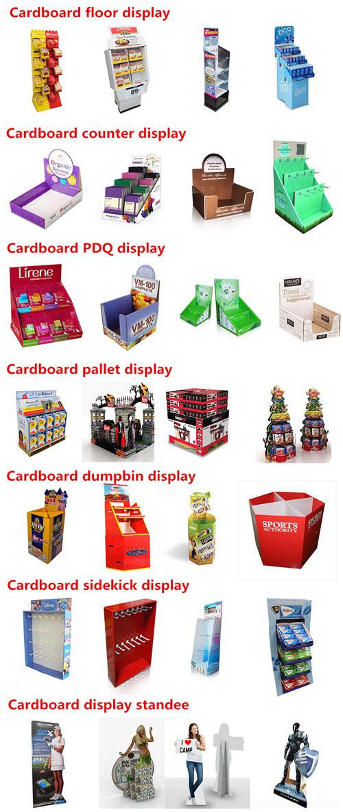 Pop Cardboard Display Stand Design for Coca Cola