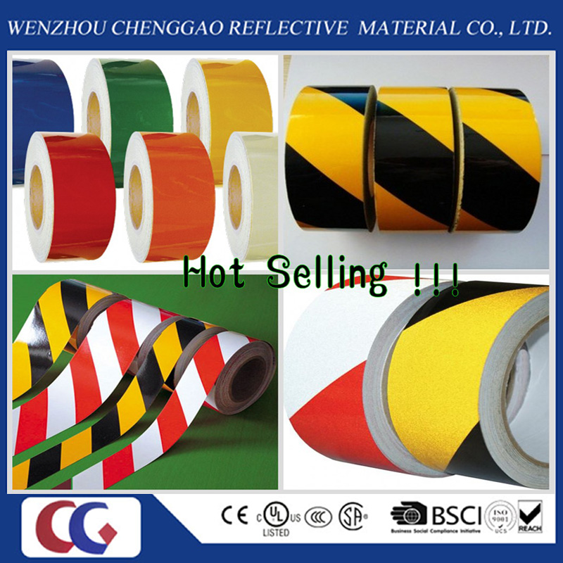 Wholesale PVC Reflective Tapes Flourescent Made in China
