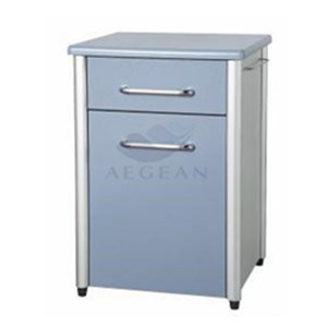 AG-Bc010 Ce&ISO Approved ABS Raw Material Hospital Medical Bedside Locker
