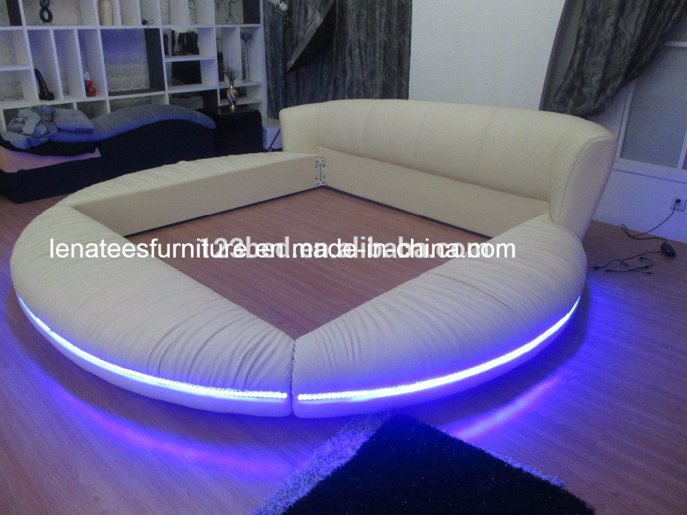 A601 New Bed Design with LED Light