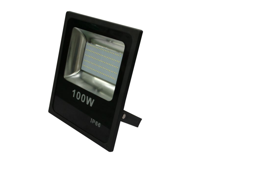 High Power Factor SMD 100W LED Flood Light IP65 with Isolated Driver with Ce RoHS