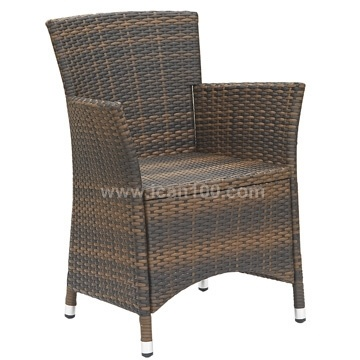 PE Wicker Dining Chair (RC-06023)