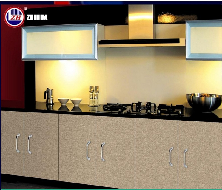 Modern High Glossy Lacqure Flat Pack Wooden Kitchen Cabinet Designs with Countertop Stone