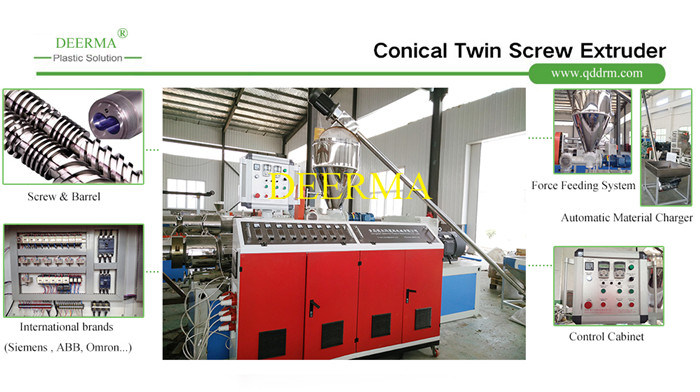 Wood Plastic Composite / WPC Profile Extruder