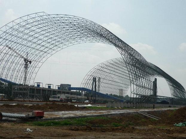 Steel Building Aircraft Hangar Metal Roof Warehouse