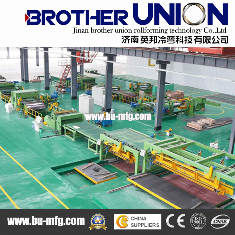 Ecl-4X1600 Cut to Length Machine Line Process