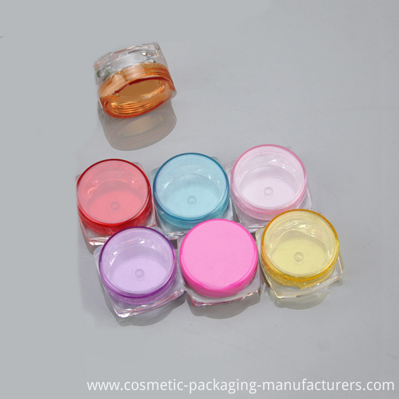 Mini Plastic Container with Lid (NJ06B)