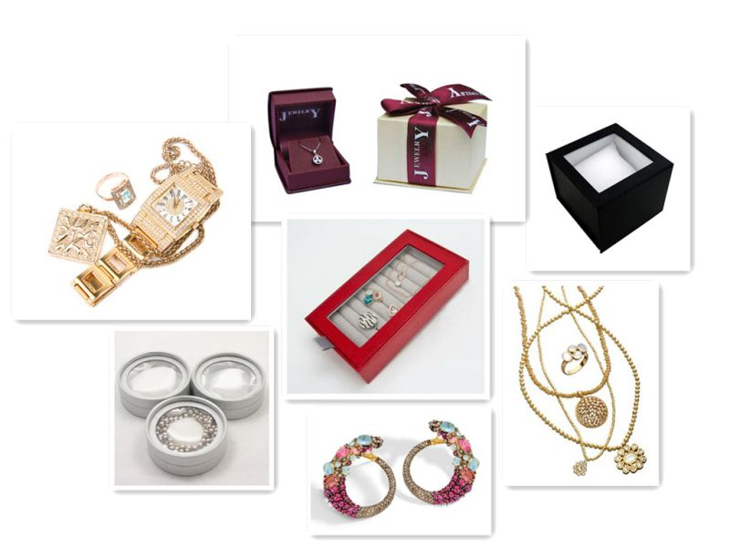Fine Work Luxury Earring Cardboard Packing Box