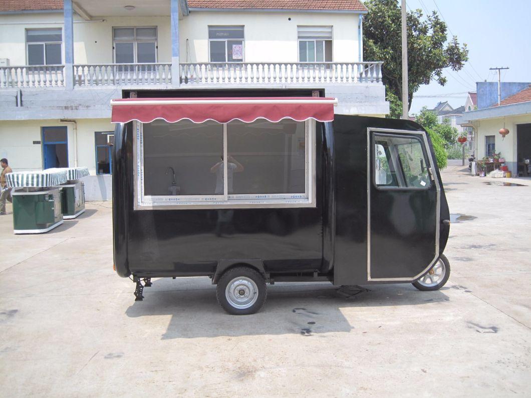 Motorcycle Mobile Street Fast Food Van (SHJ-MFR220GH)