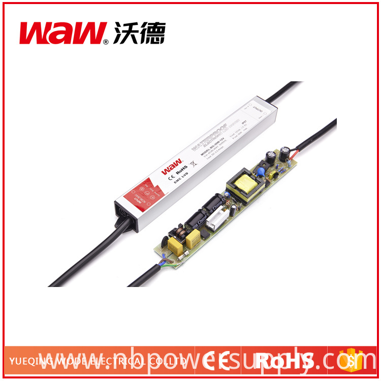 Ce RoHS Approved 30W 12V 2.5A Waterproof LED Driver Bg-30-12