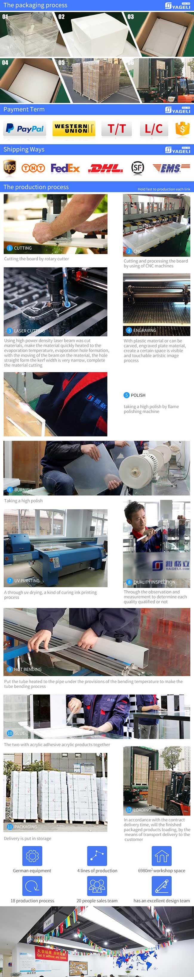 Elegant Acrylic Clothes/Apparel Hanger Printing/Engraving Logo