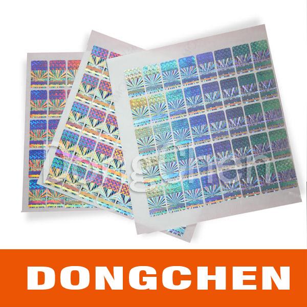 High Quality Custom 3D Hologram Sticker for Packaging