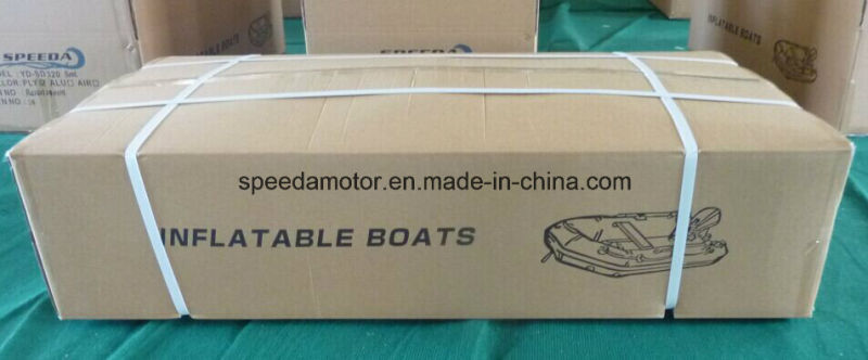PVC Inflatable Motor Boat