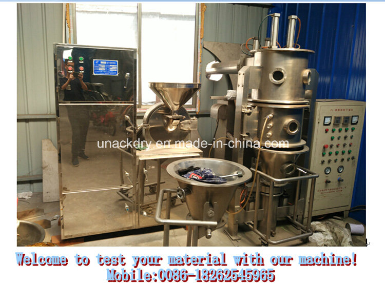 Fluid Bed Granulating Machine for Medicine