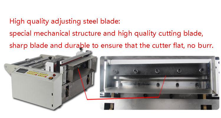 Foil cutting machine