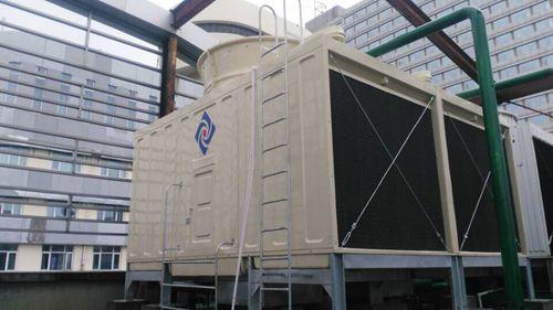 Cross Flow Rectangular 2cells CTI Certified FRP Water Cooling Tower
