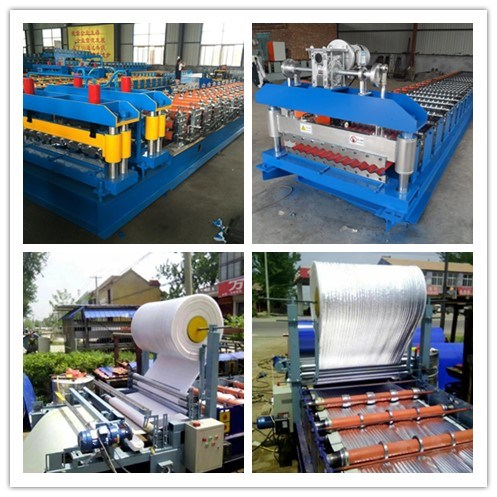 Metal Roof Sheet Crimping Curved Roll Forming Machine