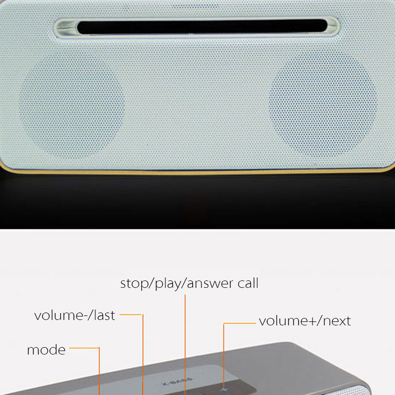 Portable Bluetooth Wireless Professional Speaker for Car