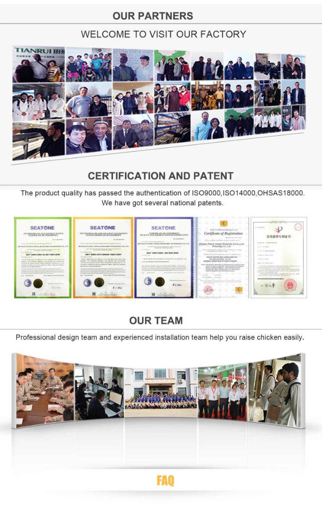 High quality Poultry Farming Pan Feeding System for Chicken Farm