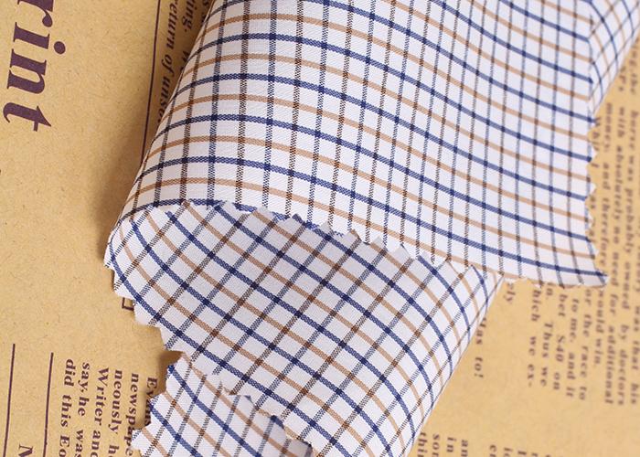 Cotton Nylon Spandex Dyed Stock Fabric