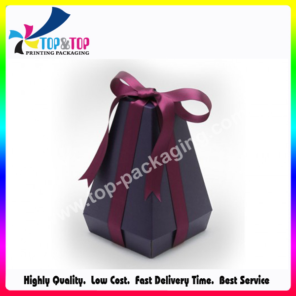 Elegant OEM Folding Perfume Gift Box with Ribbon