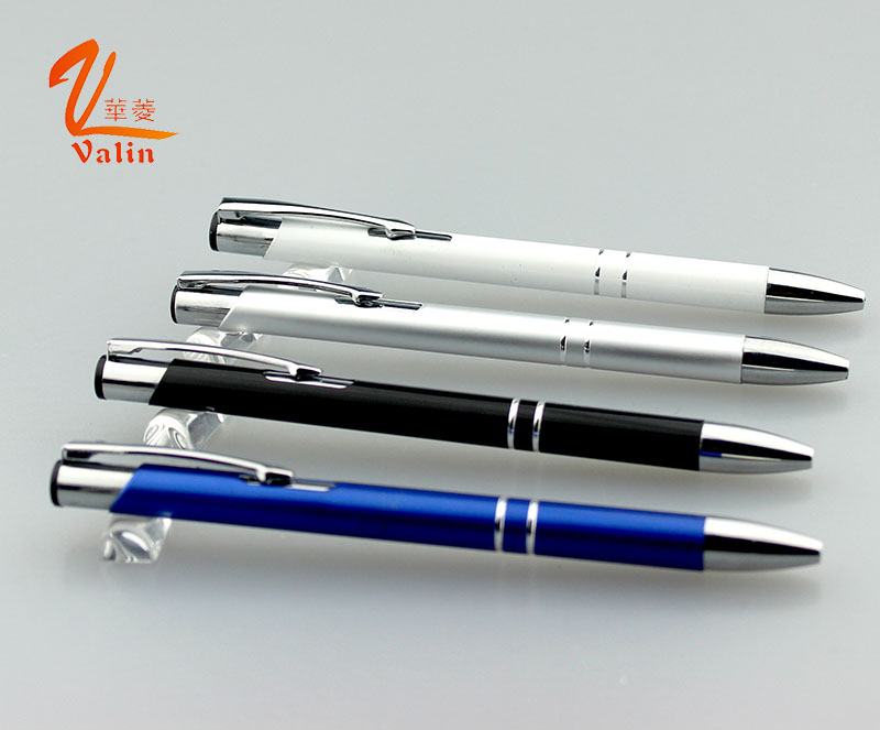 Best Selling Aluminium Ball Pen with Promational Gift