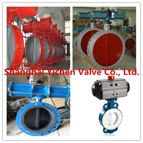 Hydraulic Control Flanged Butterfly Valve (D743H)