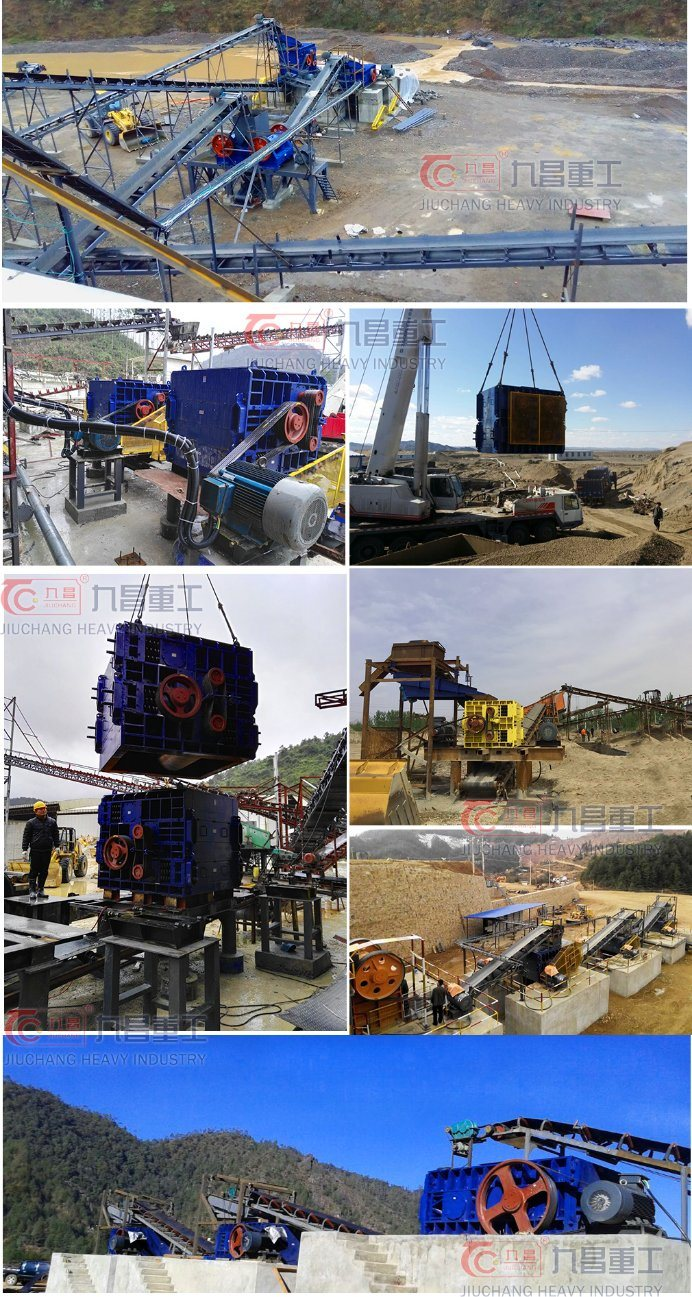 Jaw Crusher for Mine Energy Saving Stone Mining Crusher with ISO