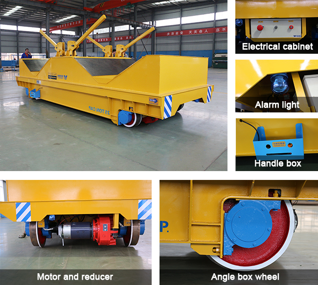 Cable Drum Powered Electric Industrial Traverser for Facility Assembly Line