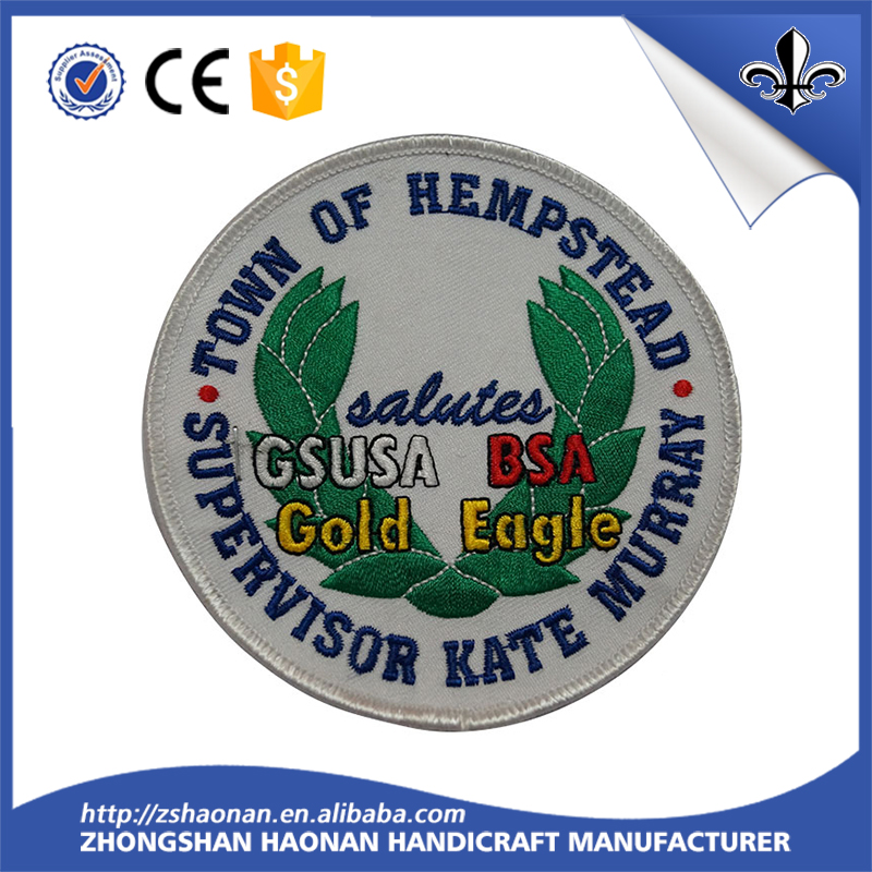 High Quality Custom Fabric Woven Label for Festival