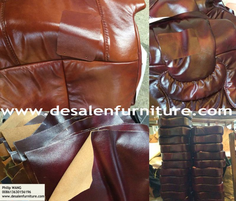 High Quality Royal Style Leather Sofa (B16)
