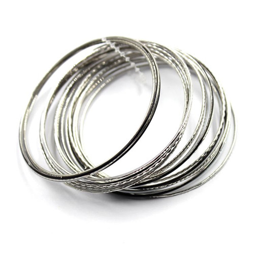 6cm fashion Shared Clorful Multi Alloy Bracelets
