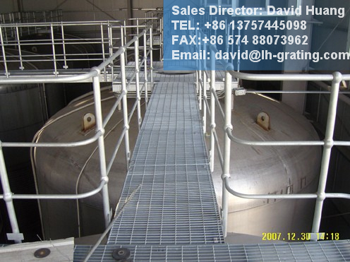Galvanized Steel Grating for Steel Structure Floor
