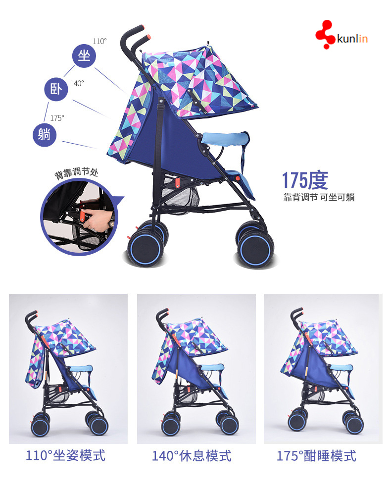 Easy Fold Portable Baby Buggy Stroller From China Baby Stroller