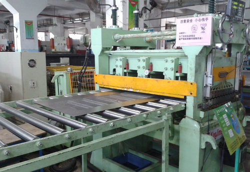 1250mm High Speed Steel Sheet Cut to Length Line Machine