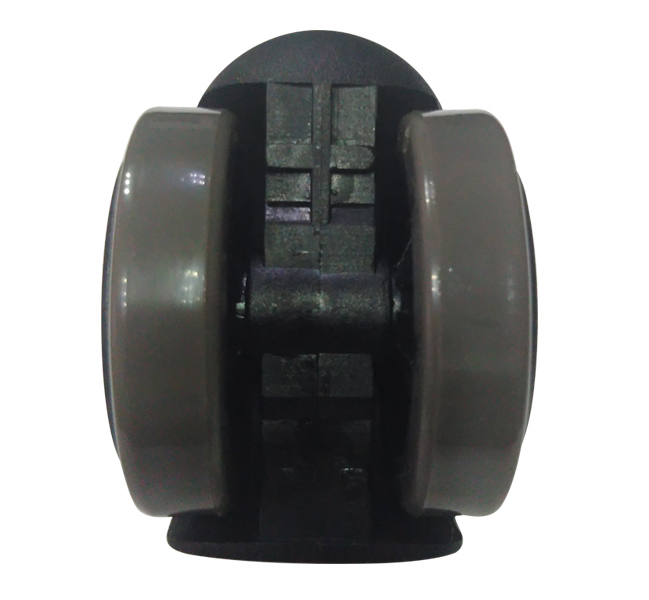 50mm Office Chair Caster Wheel Furniture Twins Swivel Castor Wheel Cabinet Caster