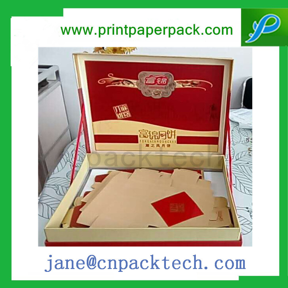 Custom Coated Paper Carton Packing Fancy Jewelry Gift Chocolate Perfume Cosmetic Watch Mooncake Packaging Box