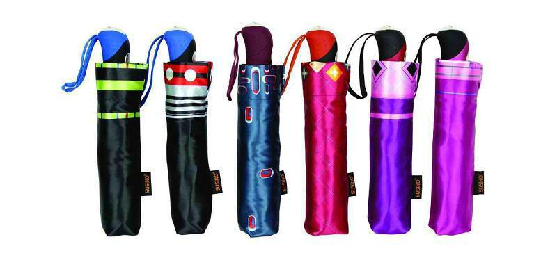 Print Satin 3 Fold Open&Close Umbrellas (YS-3FD22083970R)