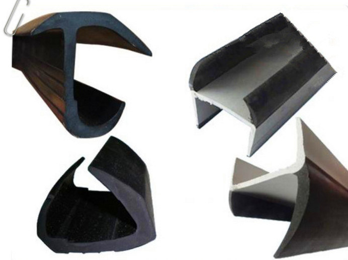 Flexible Soft /Hard Rubber Co-Extrusion Seals for Truck, Container Door