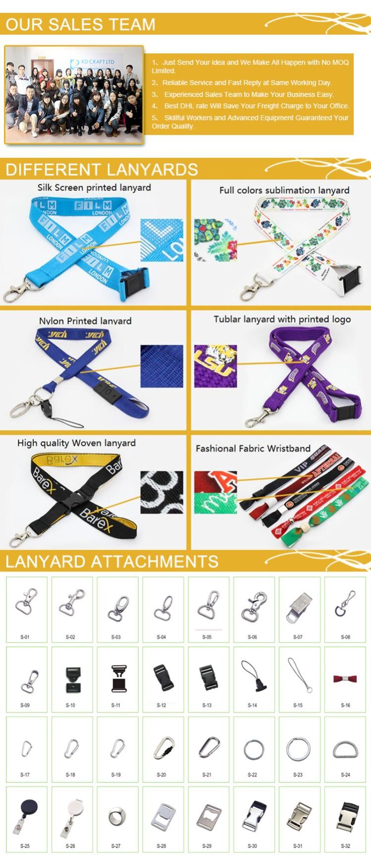 Wholesale Branded Full Colors Printing Lanyard (JN-L02)