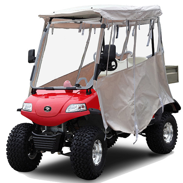 Electric Cargo Hopper /Golf Buggy 2seat, Rain Cover