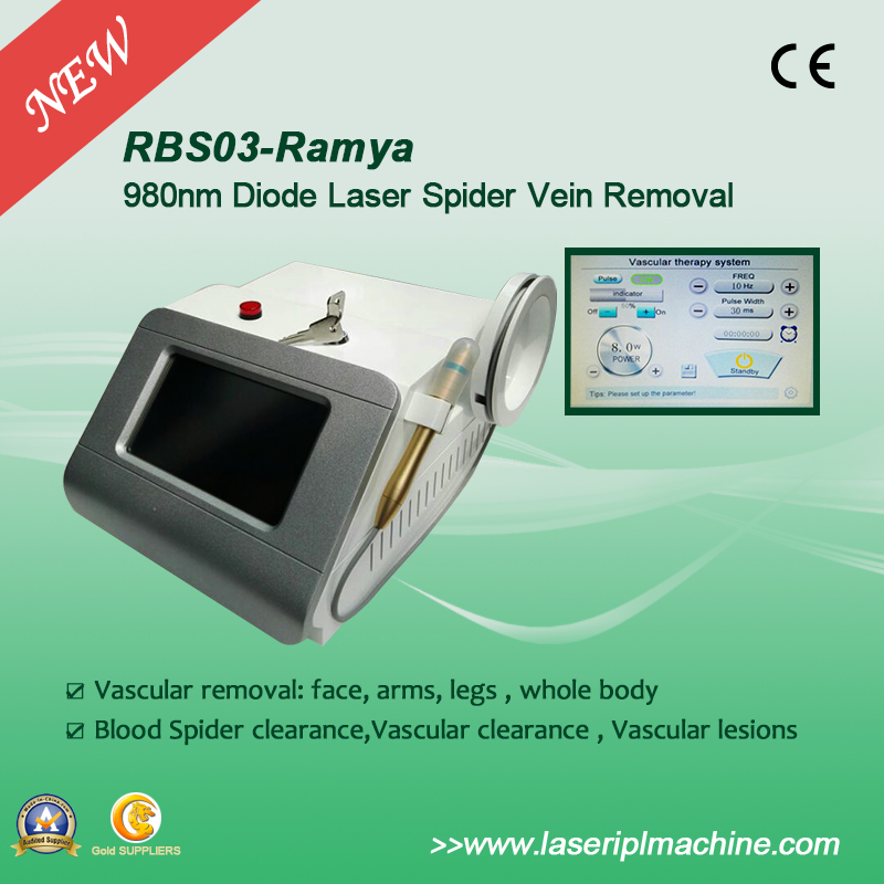 Rbs03 Vascular Removal Spider Vein Removal 980nm Medical Diode Laser