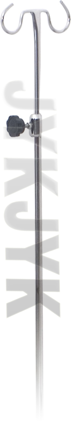 Stainless Steel Medical I. V. Rod