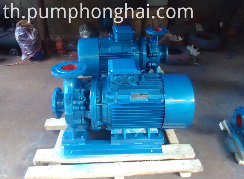 ISW cast iron material pump