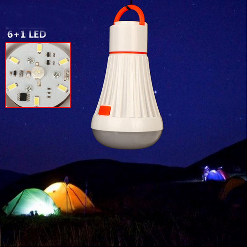 Portable LED Rechargeable Hand Lantern Lamp