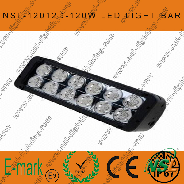 120W 4X4 CREE LED Car Light, off Road, Auto LED Light Bar LED Driving