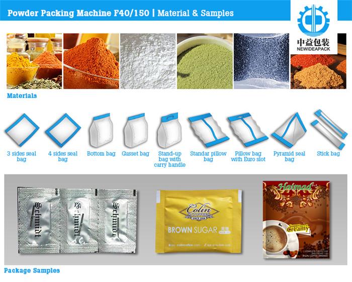 BBQ Powder Sachet Packing Machine