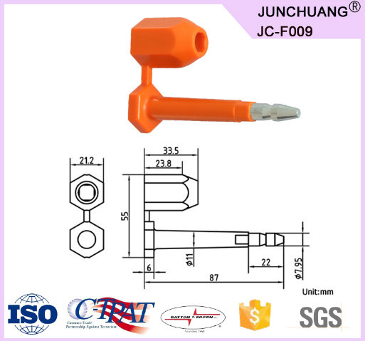 Container Bolt Seal for Logistical Shipping Company