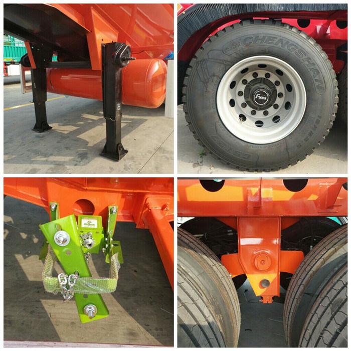 30/35/40/45cbm Bulk Cement Transport Truck Semi Trailer